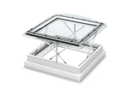 VELUX - CSP 100100 1073Q - AOV flat roof window, laminated inner pane, PVC construction, 100x100