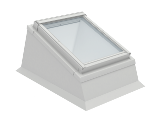 VELUX - ECX MK04 0000T - Insulated kerb for installation of RW in flat roof, 0-15 degrees,78x98