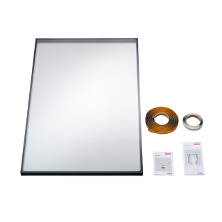VELUX - IPL C04 0060G - Double glazed noise reduction pane for V21 roof windows, 55x98